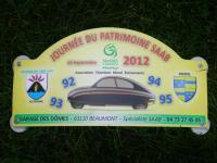 1 Journée du Patrimoine, 15 septembre 2012 Chambon sur Lac, Auvergne, France.
