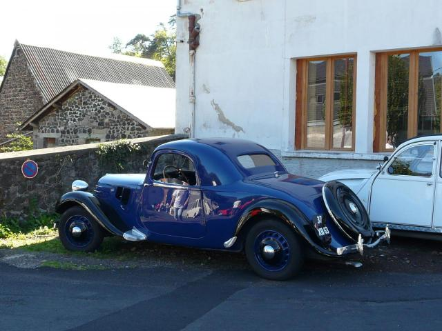 Une belle Citroën cabriolet