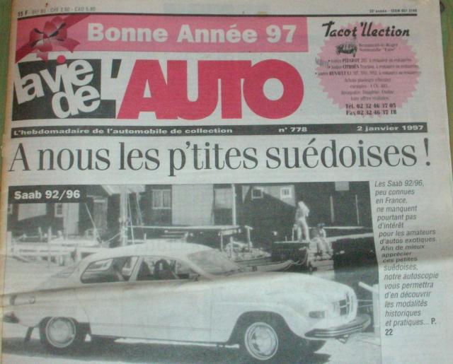 La Vie de l'Auto janvier 1997